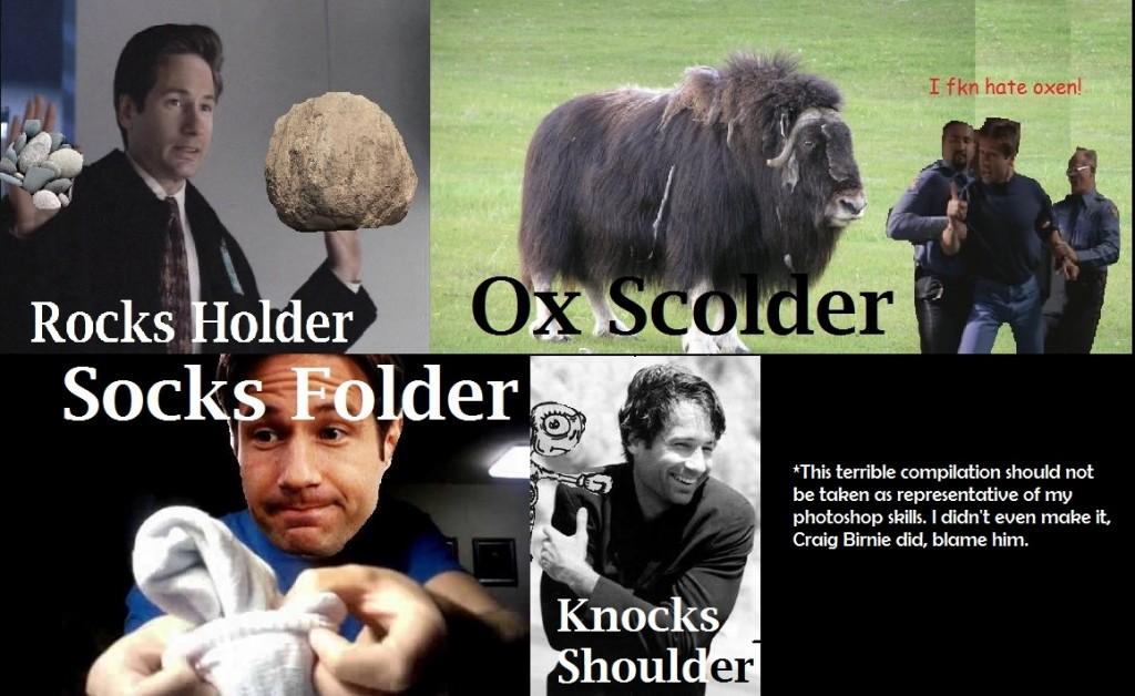 Fox Mulder Puns